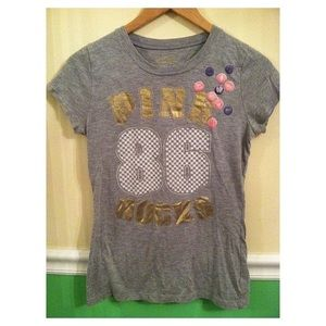 Heather Grey Victoria's Secret Pink Tee